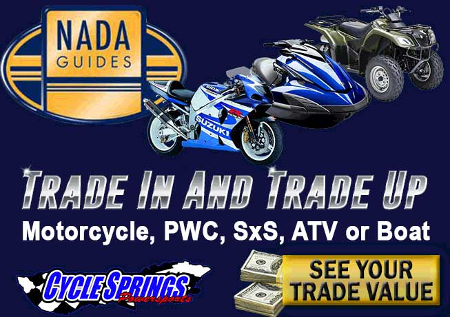 Trade In & Trade Up at Cycle Springs Powersports in Clearwater, FL